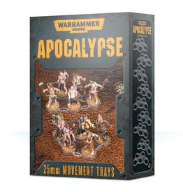 Games Workshop Apocalypse 25mm Movement Trays