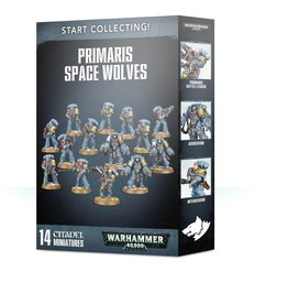 Games Workshop Start Collecting! Primaris Space Wolves