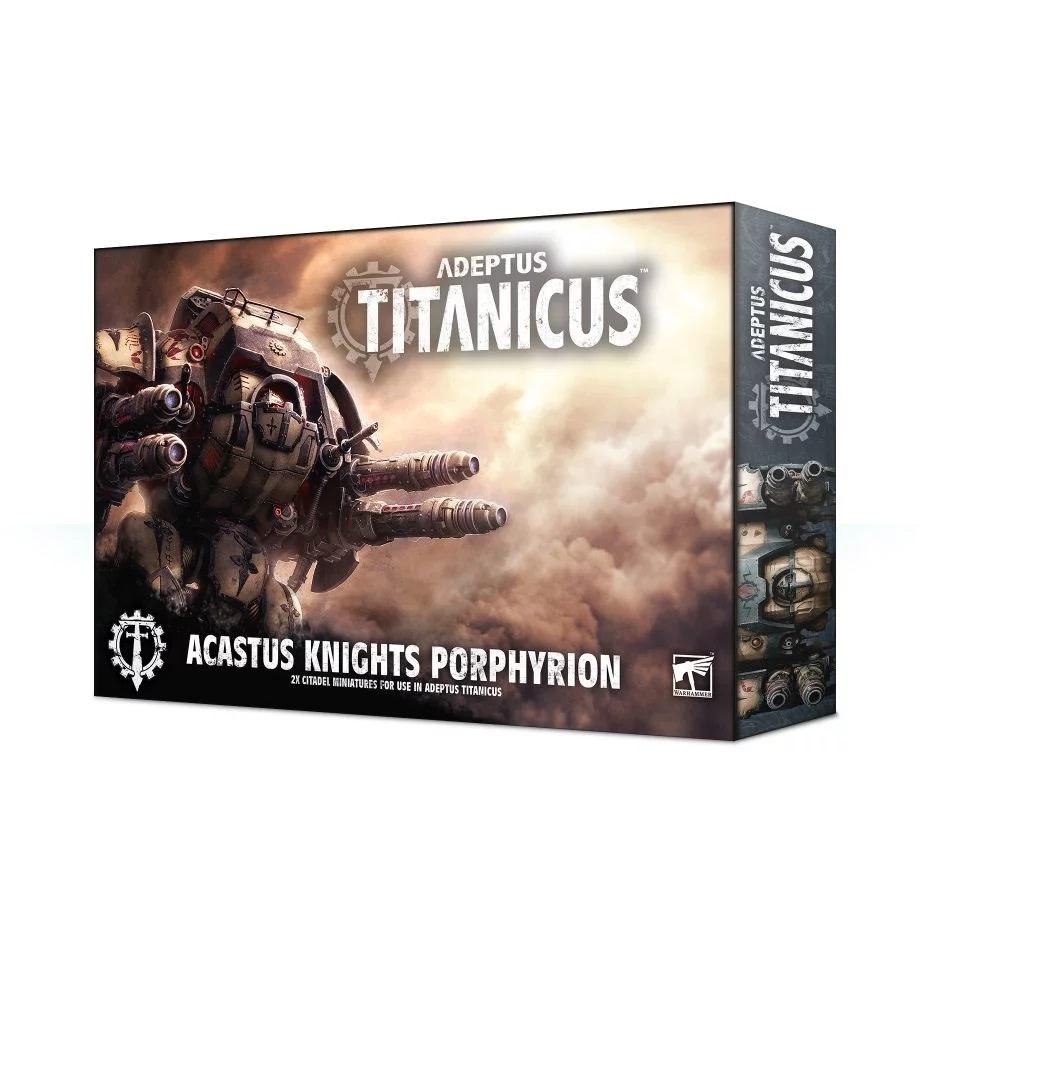 Games Workshop Adeptus Titanicus Acastus Knights Porphyrion