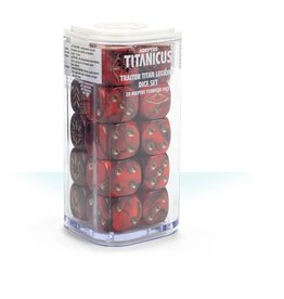 Games Workshop Traitor Titan Legions Dice Set