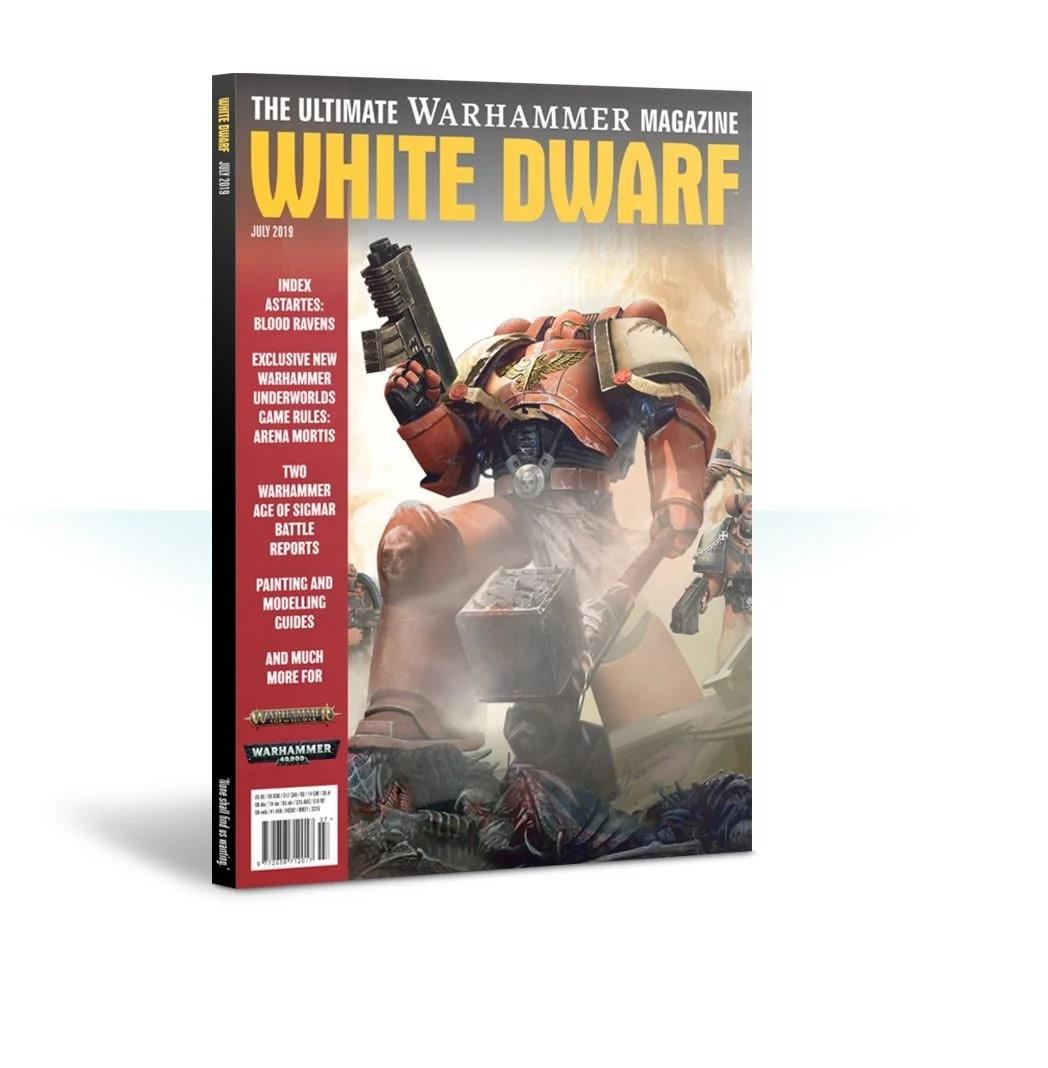 Games Workshop White Dwarf July 2019