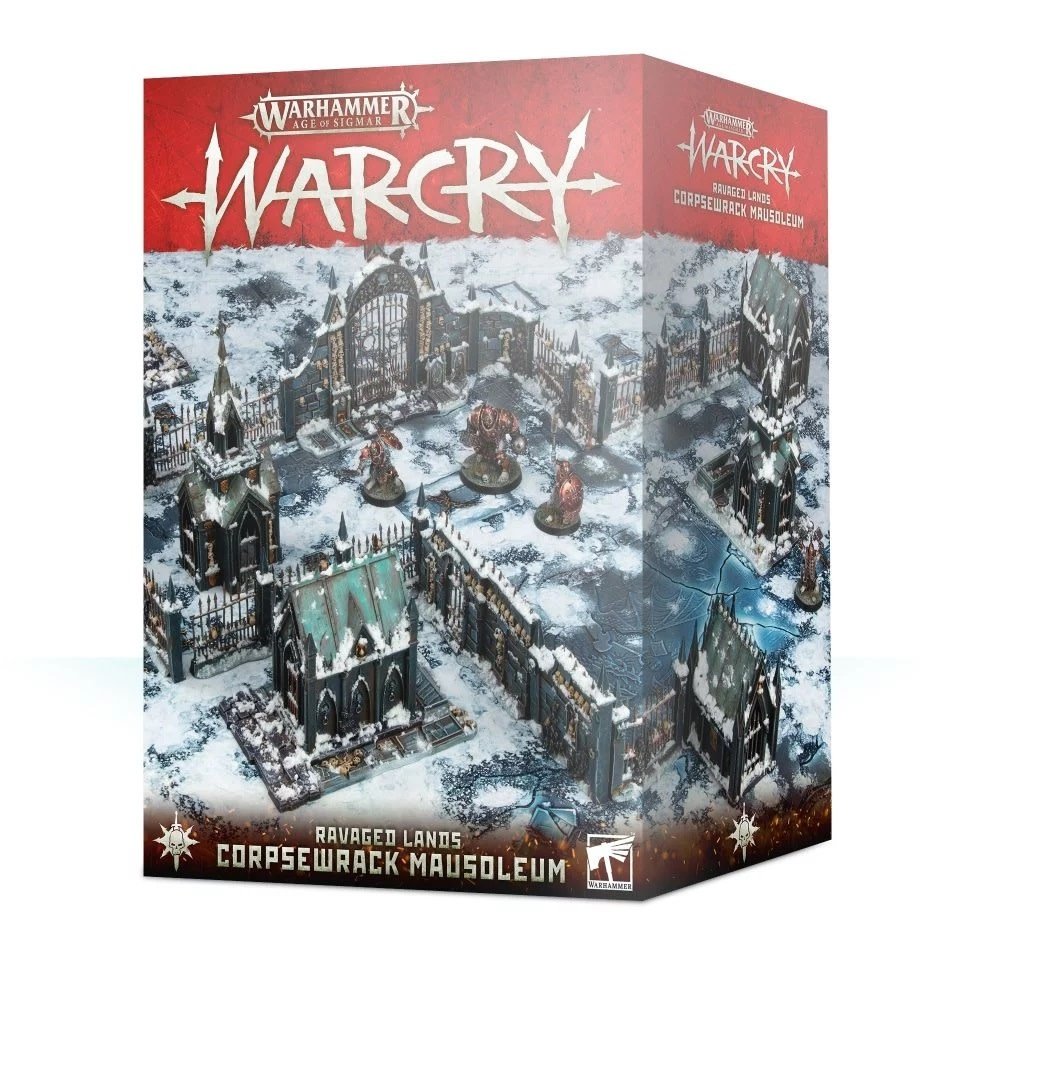 Games Workshop Warcry Ravaged Lands: Corpsewrack Mausoleum