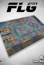 Frontline Gaming FLG Mats: San Angeles 6x4'