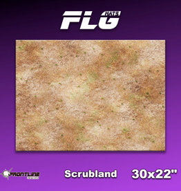 "Frontline Gaming FLG Mats: Scrubland 30"" x 22"""