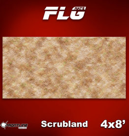 Frontline-Gaming FLG Mats: Scrubland 4x8'