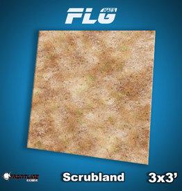 Frontline Gaming FLG Mats: Scrubland 3x3'