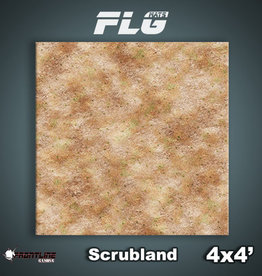 Frontline Gaming FLG Mats: Scrubland 4x4'