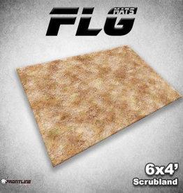 Frontline Gaming FLG Mats: Scrubland 6x4'