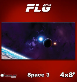 Frontline-Gaming FLG Mats: Space 3 4x8'