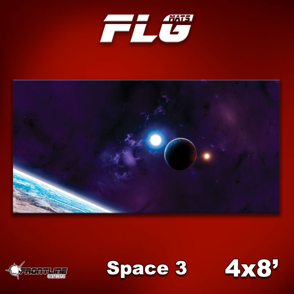 Frontline Gaming FLG Mats: Space 3 4x8'