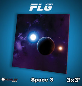 Frontline Gaming FLG Mats: Space 3 3x3'