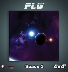Frontline Gaming FLG Mats: Space 3 4x4'