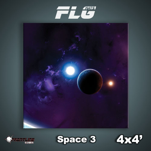Frontline-Gaming FLG Mats: Space 3 4x4'