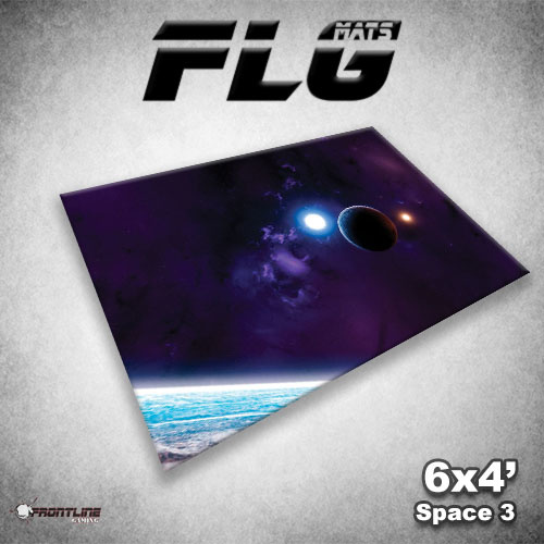 Frontline Gaming FLG Mats: Space 3 6x4'