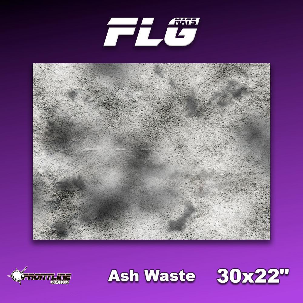 "Frontline-Gaming FLG Mats: Ash Waste 30"" x 22"""