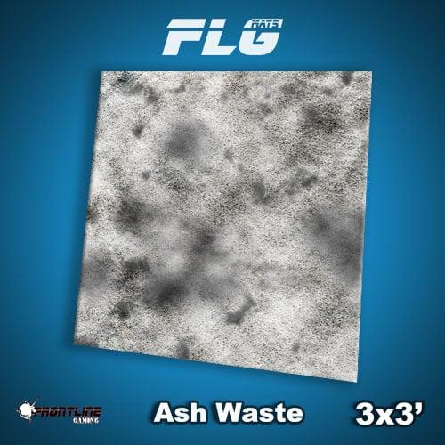Frontline-Gaming FLG Mats: Ash Waste 3x3'