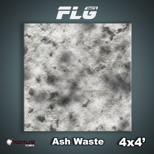 Frontline Gaming FLG Mats: Ash Waste 4x4'