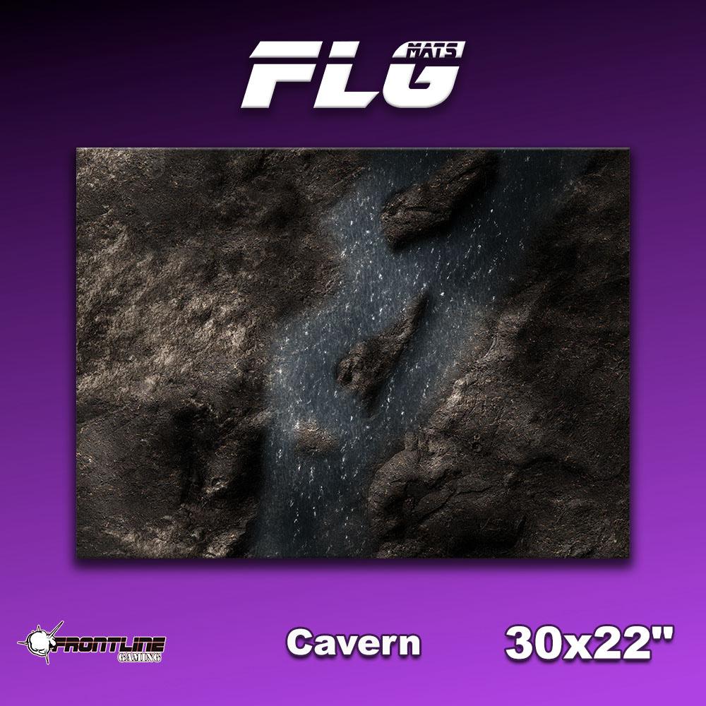 "Frontline-Gaming FLG Mats: Cavern 30"" x 22"""