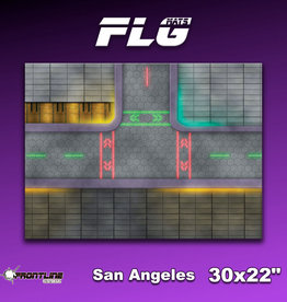 "Frontline Gaming FLG Mats: San Angeles 30"" x 22"""