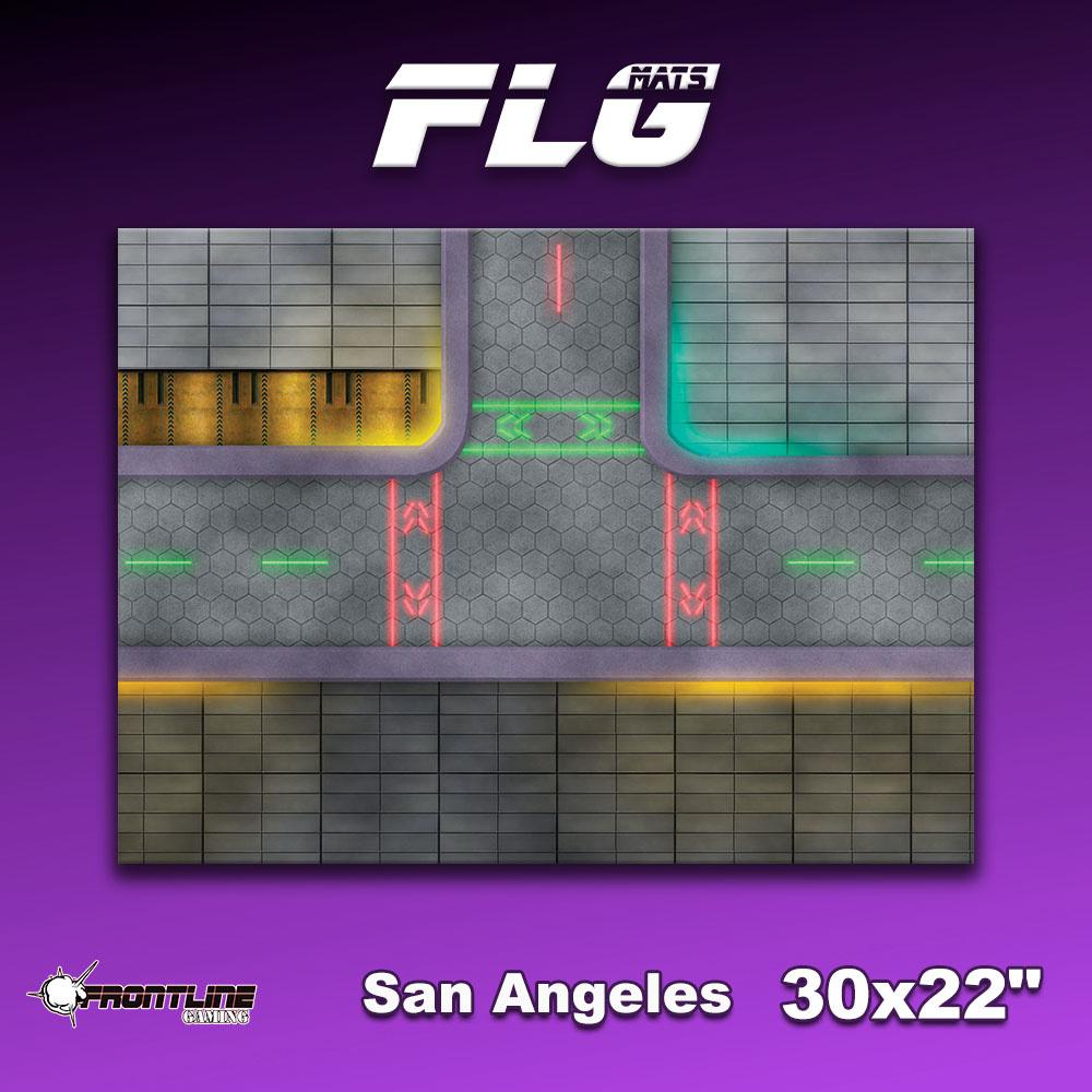 "Frontline-Gaming FLG Mats: San Angeles 30"" x 22"""