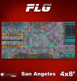 Frontline Gaming FLG Mats: San Angeles 4x8'