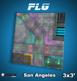 Frontline Gaming FLG Mats: San Angeles 3x3'