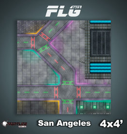Frontline Gaming FLG Mats: San Angeles 4x4'