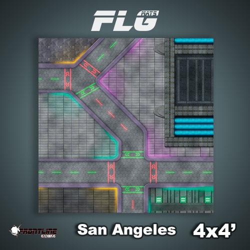 Frontline-Gaming FLG Mats: San Angeles 4x4'