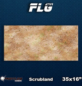 Frontline Gaming FLG Mats: Scrubland Desk Mat
