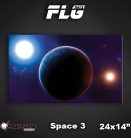 "Frontline Gaming FLG Mats: Space 3 24"" x 14"""
