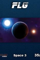 Frontline Gaming FLG Mats: Space 3 Desk Mat