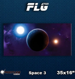 Frontline Gaming FLG Mats: Space 3 Desk Mat