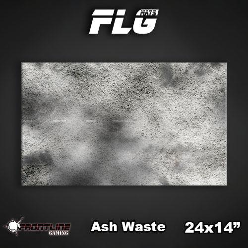"Frontline Gaming FLG Mats: Ash Waste 24"" x 14"""