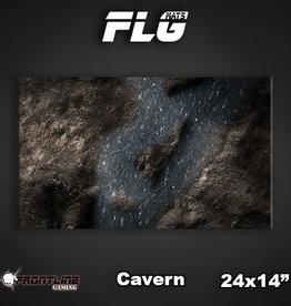 "Frontline-Gaming FLG Mats: Cavern 24"" x 14"""