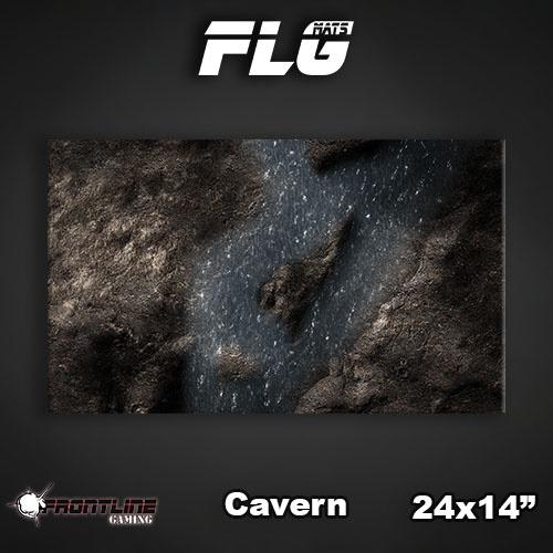 "Frontline Gaming FLG Mats: Cavern 24"" x 14"""