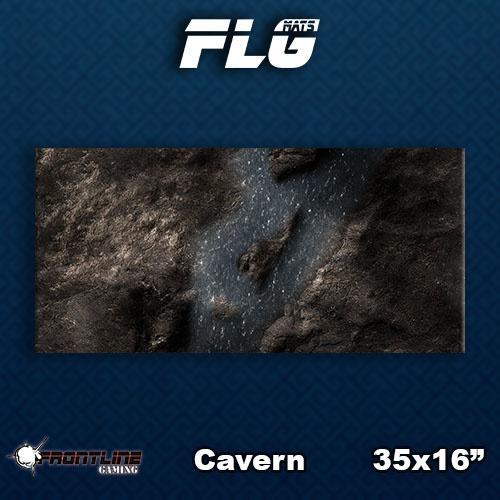 Frontline Gaming FLG Mats: Cavern Desk Mat