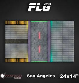 "Frontline Gaming FLG Mats: San Angeles 24"" x 14"""