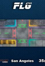 Frontline Gaming FLG Mats: San Angeles Desk Mat
