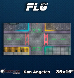 Frontline Gaming FLG Mats: San Angeles Desk Mat