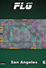Frontline-Gaming FLG Mats: San Angeles 6x3'