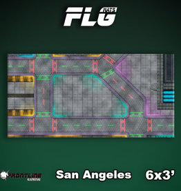 Frontline Gaming FLG Mats: San Angeles 6x3'