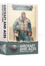 Games Workshop Aircraft and Aces Imperial Navy Cards