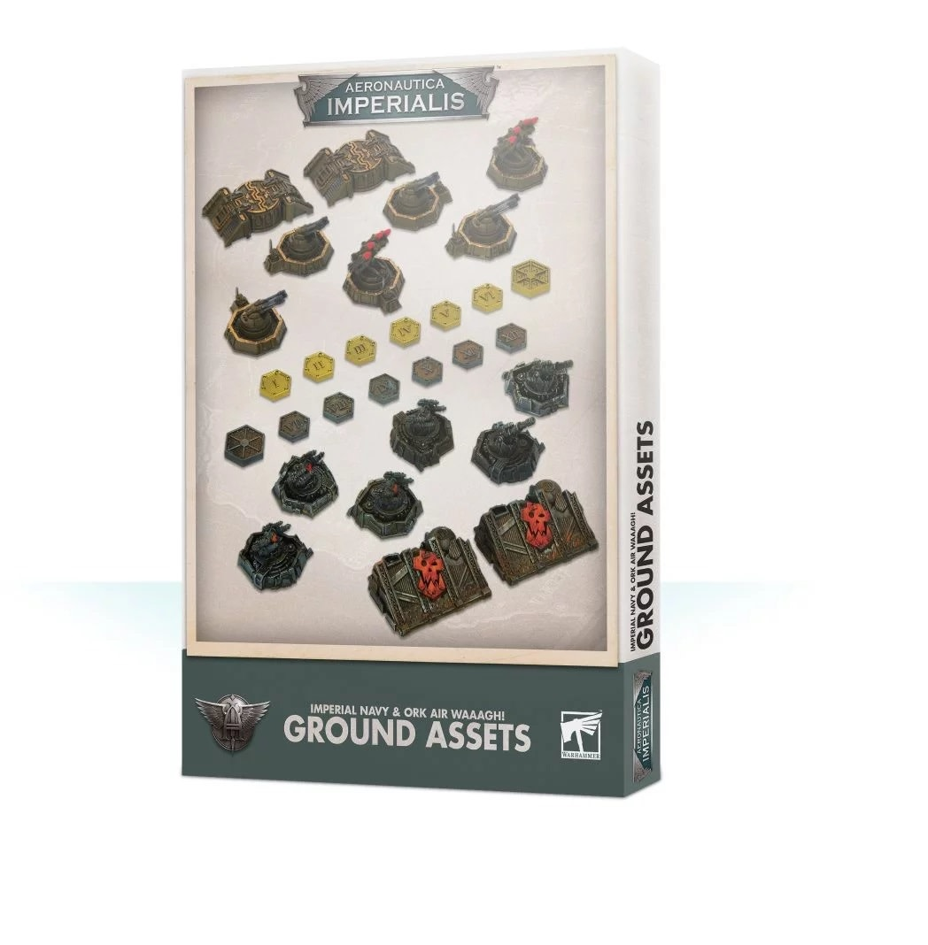 Games Workshop Aeronautica Imperialis Imperial and Ork Ground Assets