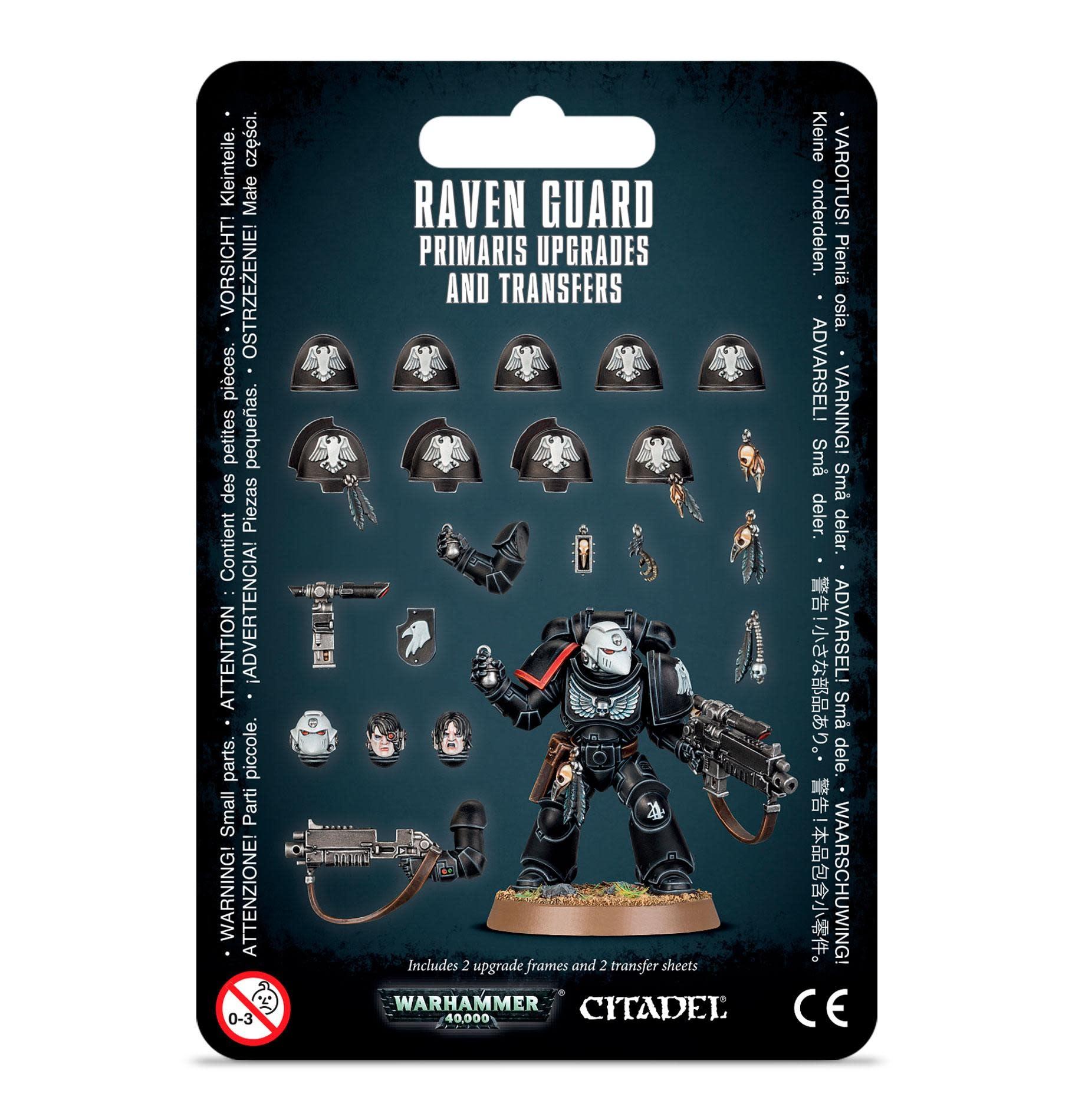 Games Workshop Raven Guard Primaris Upgrades and Transfers