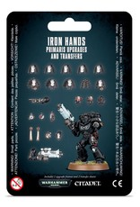 Games Workshop Iron Hands Primaris Upgrades and Transfers