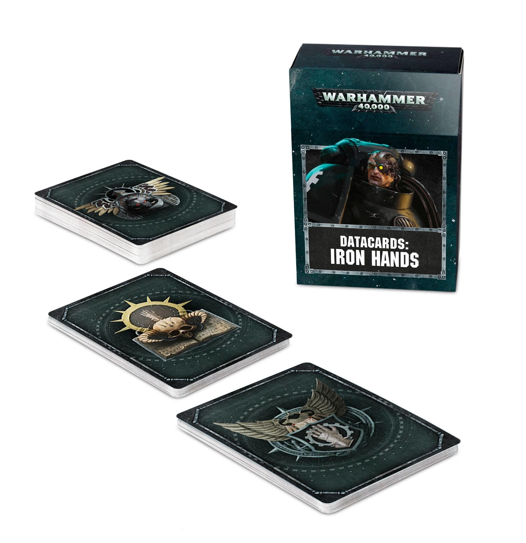 Games Workshop Datacards: Iron Hands