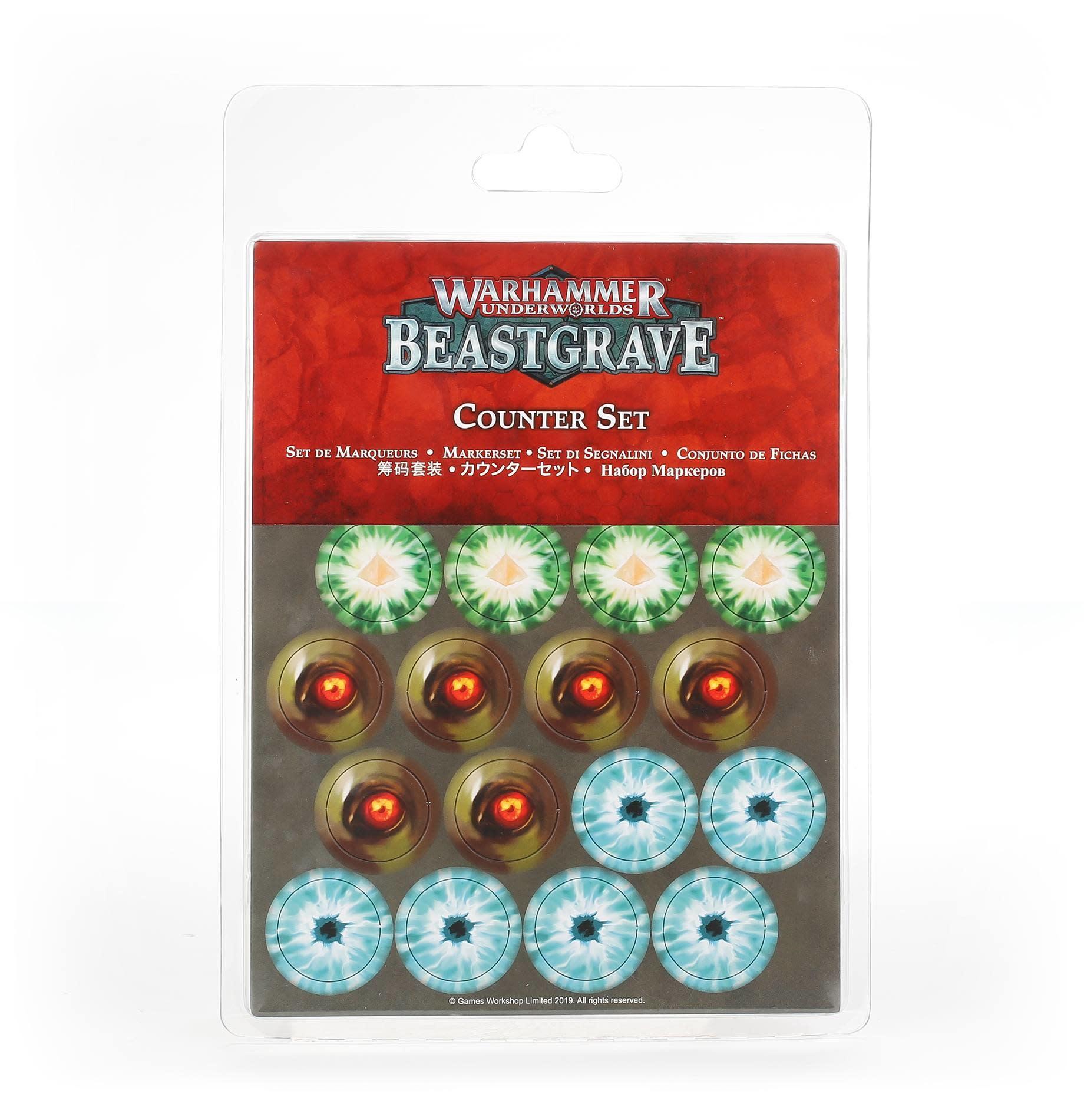 Games Workshop Warhammer Underworlds: Beastgrave – Counter Set