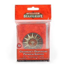 Games Workshop Warhammer Underworlds: Beastgrave – Grashrak's Despoilers Premium Sleeves