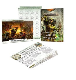 Games Workshop Warscroll Cards: Orruk Warclans