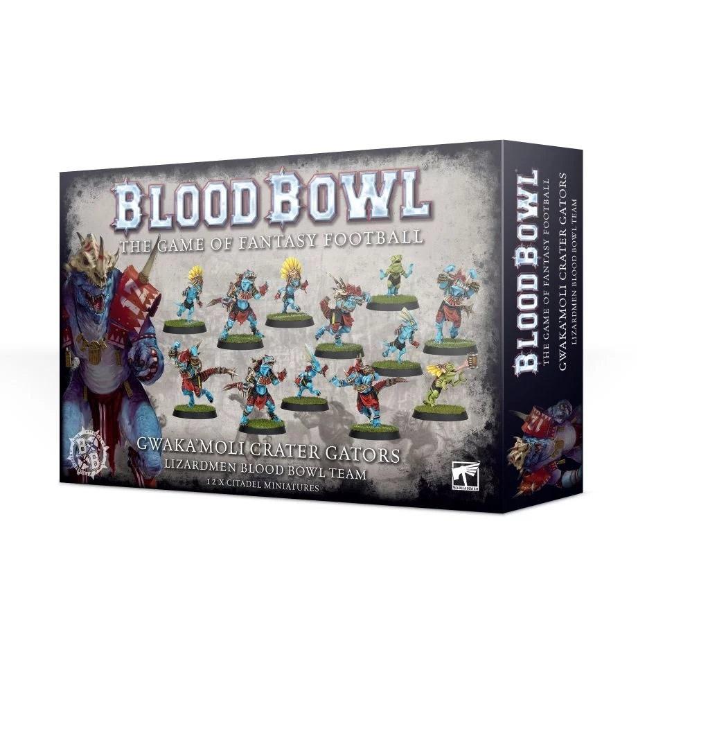 Games Workshop Gwaka'moli Crater Gators - Lizardmen Blood Bowl Team